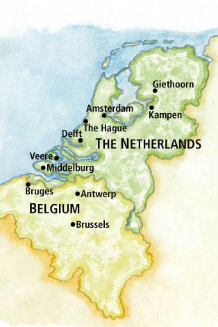 Northwestern Alumni Association Dutch Waterways