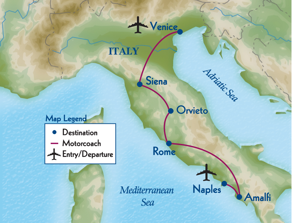 Northwestern Alumni Association - Portrait of Italy