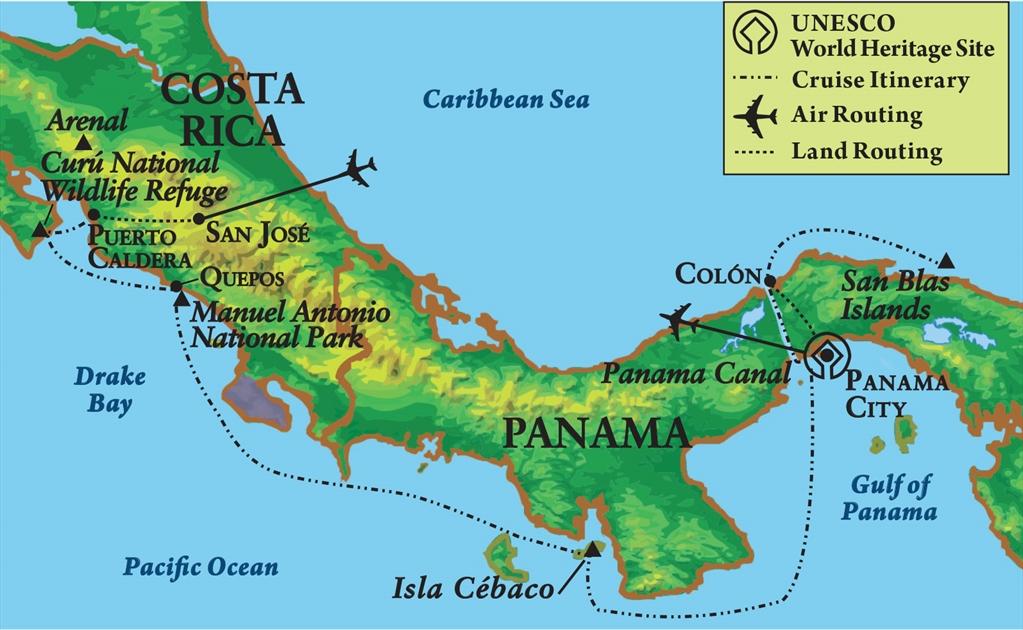 Northwestern Alumni Association - Passage through the Panama ...